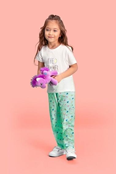 Roly Poly Rolypoly The Summer Kız Çocuk Pijama Takımı Krem